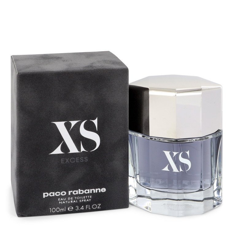 Paco Rabanne Xs 3.4 Oz Eau De Toilette Cologne Spray