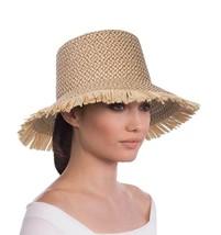 uthentic NWT Eric Javits Fashion Designer Women's Hat - Tiki Bucket in P... - $188.10