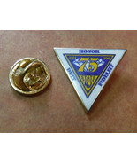 Police state of New Jersey 75th Anniversary 1921 -1996 mini badge lapel pin - $6.75