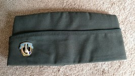 US ARMY CORPS GREEN GARRISON CAP WITH PIN SIZE 7 1/8 - $27.61