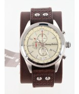 Tommy Bahama Dual-Time 46mm Chronograph Watch TB00080-01, New in Box - $2.331,26 MXN