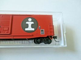 Micro-Trains # 18000280 Illinois Central Gulf 50' Standard Box Car N-Scale image 3