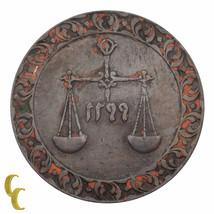 1881 (AH 1299) Zanzibar 1 Pysa Sultan Barghash Copper Coin KM# 1 (XF Con... - $44.55