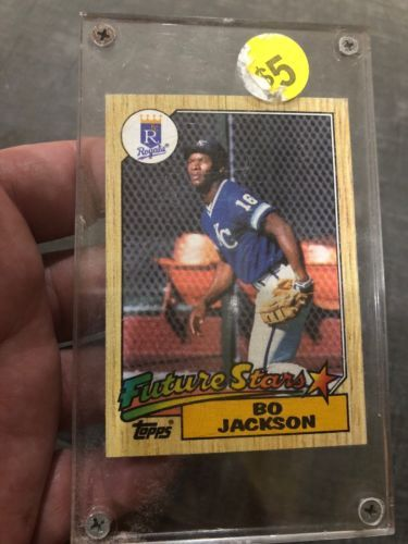 1987 Topps 170 Bo Jackson Rookie Rc Gem Mint Kansas City Royals