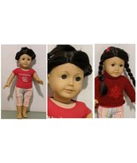 American Girl Just Like You Doll Black Hair Brown Eyes Place Chicago Acc... - $97.99