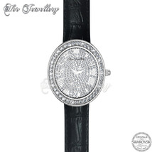 Glamour Leather Watch - £94.92 GBP