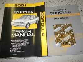 2001 Toyota Corolla Servizio Riparazione Negozio Officina Manuale Set W Ewd - $188.05