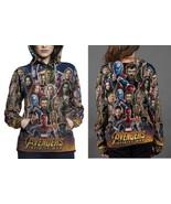 Avengers Infinity War Trailer HOODIE FULLPRINT WOMEN - $44.99+