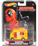 Hot Wheels - Deadpool Chimichanga Truck: '18 Replica Entertainment - Mar... - $13.00