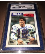 1987 Topps Jim Kelly Autographed Football Card Steiner - $99.99