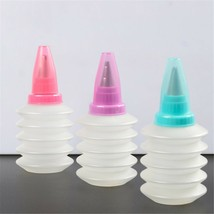 Plastic Dessert Icing Piping Bottle Bake Decorating Reusable Tools - $3.06