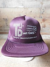 TEL-DUCT Corp Serving The Telecommunications Adjustable Snapback Adult Hat Cap - $26.72