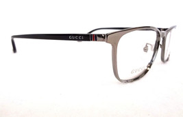 GUCCI Frame Glasses GG0133OJ TITANIUM Ruth Black 56-17-145 MADE IN JAPAN... - $265.00