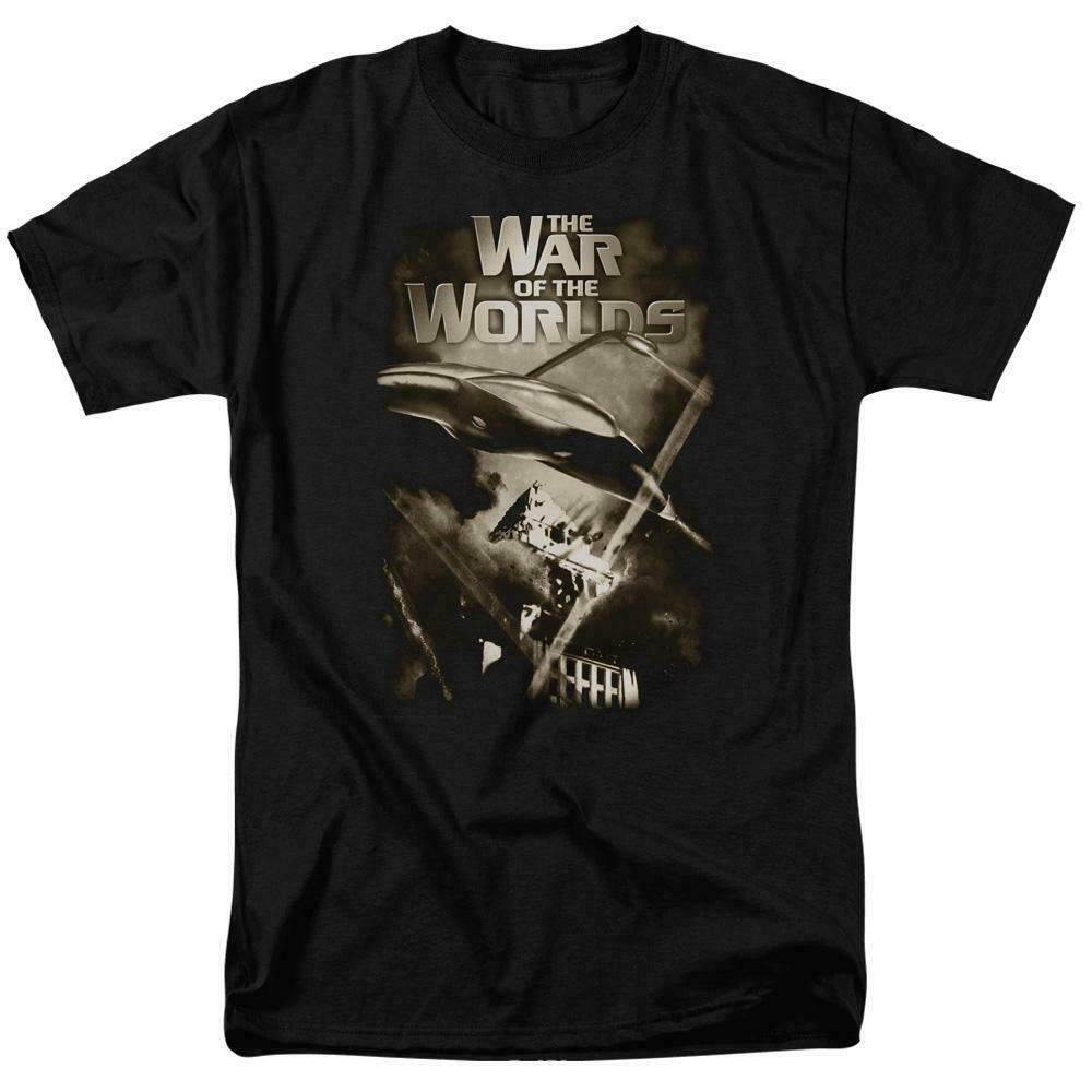 The War of the Worlds t-shirt retro 50s Sci Fi thriller graphic tee PAR120