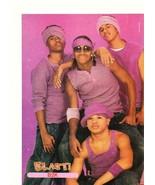 B2K teen magazine pinup clipping Lil  Fuzz Omarion J-Boog purple shirts ... - $5.00