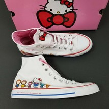Converse x Hello Kitty CTAS HI Shoes Sneakers White 162944C Womens Size ... - $89.14 CAD