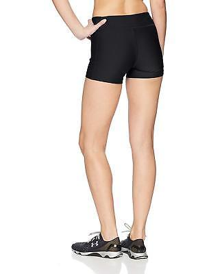 Under Armour Donna On The Court 10.2cm Shorts, Nero/Bianco, M