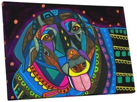 "Pingo World 0414Q5UBU9Y ""Heather Galler Labrador Dog"" Gallery Wrapped Canvas Wal - $43.51"