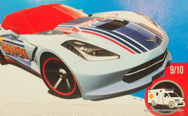 HOT WHEELS 14 CORVETTE STINGRAY - $1.97