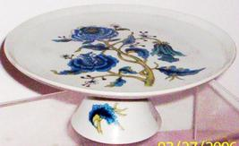 Made in Japan -- SHAFFORD CHINA-- BLUE PEONY MINI CAKE PLATE - $14.95