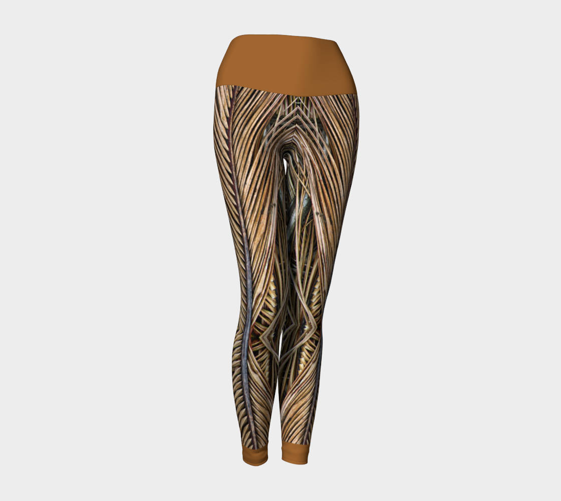 6fd99b372a6ab Palm Frond Yoga Leggings style 1 and 50 similar items