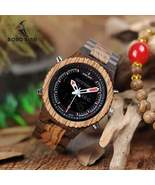 BOBO BIRD Wooden Watch Dual Display - $64.95