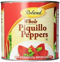 Roland Piquillo Peppers, Whole, 88 Ounce - £25.56 GBP