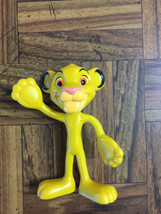 "Walt Disney World Resort LION KING SIMBA 4"" Bendy Poseable PVC Toy Figure  - $11.43"