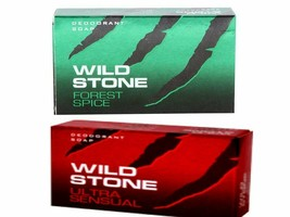 Wild Stone Soap For Mens Ultra Sensual or  Forest Spice Soap 125gm Free ... - $6.84