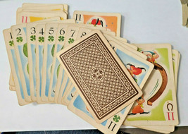 Hearts Cartoon Designed Face Deck of Playing Cards     (#32) image 1