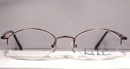 Nicole Miller Anklet Brown FudgecicleWomen Eyewear Eyeglasses Frames - $49.49