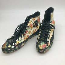 Converse All Star Sasha Hi Top Floral Sneakers Size 9.5 Sold Out Stores - $99.00