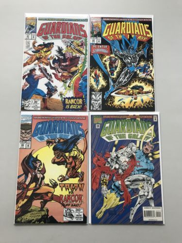 Lot 9 Guardians of the Galaxy (1990 1st Series) #2-4 17 20-23 59 VF-NM Near Mint