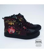 Harajuku Samurai print canvas fashion sneaker s... - $45.55
