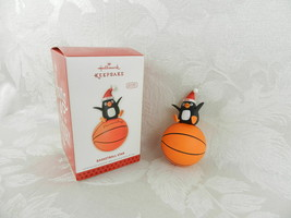 Hallmark Christmas Ornament - Basketball Star - 2013 Penguin Personalize - $14.84