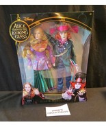 Disney Alice Through the Looking Glass The Mad Hatter & Alice doll 2 pac... - $75.99