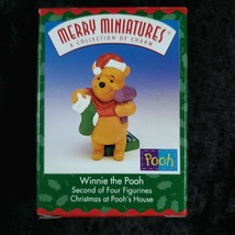 Hallmark Merry Miniatures A Collection Of Charm Winnie the Pooh Figurine NIB - $13.85