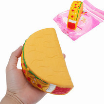 14.5cm Squishy Taco Slow Rising Soft Collection Gift Decor Toys - $17.00