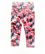 Girls wide waistband yoga capri - $6.50