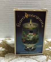 Vintage Christmas Flame Buoyants Snowman Candle Floating Candle NIB - $12.00