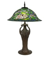 Table Lamp DALE TIFFANY REN Flared Dome Shade 2-Light - £2,675.65 GBP