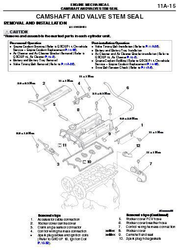 MITSUBISHI OUTLANDER 2003 - 2006 ULTIMATE FACTORY OFFICIAL SERVICE REPAIR MANUAL image 4