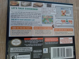 Nintendo DS Personal Trainer: Cooking image 2