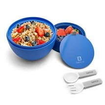 Bentgo Bowl Blue – Insulated, BPA-Free Lunch Container with Collapsible ... - £15.06 GBP