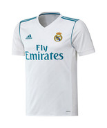 Real Madrid adidas 2017/18 Home Authentic Blank Jersey - White - $85.00