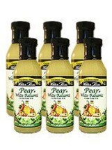 Walden Farm's Pear and White Balsamic Vinaigrette Salad Dressing, 12 Ounce Pack