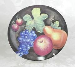 "Furio ""Eden"" Oval Dinner Plate H702/9 Fruit 11.5"" x 12.5"" - $11.87"
