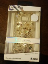 Case Mate Karat Pearl Genuine Mother Of Pearl Case for Samsung Galaxy S8 - $16.00