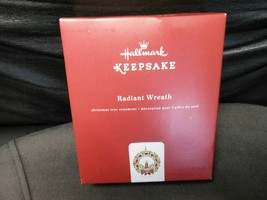 "Hallmark Keepsake ""Radiant Wreath"" 2018 Metal Ornament NEW  - $12.62"