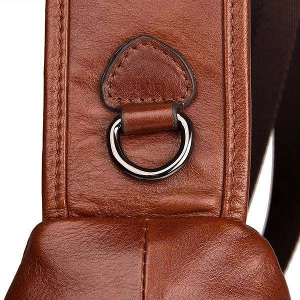Sale, Messenger Bag, Men's Leather Messenger Bag, Men's Cross Leather Bag, Verti image 4